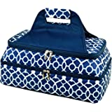 Picnic at Ascot Original Insulated Double Layer Thermal Food and Casserole Carrier- keeps Food Hot or Cold- Designed & Qualit