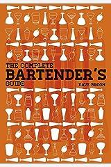 Complete Bartender's Guide Hardcover