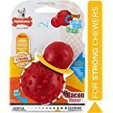 Nylabone Strong Chew Cone Stuffable Chew Toy for Dogs Bacon Flavor Small/Regular - Up to 25 lbs.