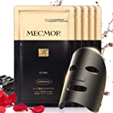 MECMOR Black Cleaning Facial Treatment Mask Rose Serum, Detoxify Skin, Minimize Pores, Reduce Fine Lines, Reduce Blackheads,