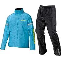 コミネ(KOMINE) バイク用 STDレインウェア Cyan Blue S RK-543 896 雨具 カッパ