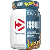 Dymatize ISO100 Hydrolyzed Protein Powder 100% Whey Isolate Protein- 5.5g BCAAs, Cream Fruity Pebbles, 1.6 Pound