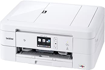brother A4インクジェット複合機 DCP-J973N-W (12ipm/両面印刷/有線・無線LAN/ADF/手差し/レーベル印刷)