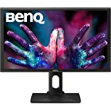 "BENQ PD2700Q LED-Lit QHD 2560x1440 Height-Adjustable Designer Monitor, 27"", Black"