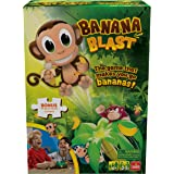 Banana Blast - Pull The Bananas Until The Monkey Jumps Game - Includes a Fun Colorful 24pc Puzzle by Goliath , Green