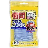 白金製薬 歯間フロス&ようじ 100本
