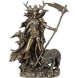 Veronese Design 10.4 Inch Hel Norse Goddess of Underworld Antique Bronze Sculpture