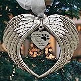 Christmas Ornament Pet Memorial Angel Wings Sympathy Gift