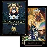 タロットカード 81枚 タロット占い 【 ドリーム オブ ガイア タロット Dreams of Gaia Tarot 】日本語解説書付き [正規品]