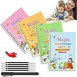 Magic Practice Copybook for Kids,Magic Calligraphy That Can Be Reused,Handwriting Copybook,Groove Copybook,Lifepigment Magic