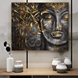 Canvas Wall Art Abstract Buddhism Posters and Prints Wall Art Canvas Painting Buddhist Pictures Living Room Home Buddha Decor