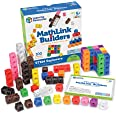 Learning Resources LER9294 STEM Explorers, Math Cubes, Early Math Skills, Mathlink Builders, 100 Pieces, Ages 5+