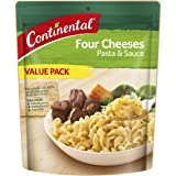 CONTINENTAL Pasta & Sauce (Value/Family Pack) | Four Cheeses, 170g