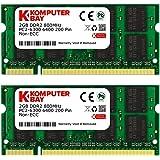 Komputerbay 日本進出記念 メモリ 2枚組 DDR2 800MHz PC2-6400 2GBX2 DUAL 2…