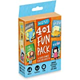 Hoyle 6 in 1 Fun Pack - Kids Card Games - Ages 3 & Up - Memory, Go Fish, Crazy Eights, Old Maid, Matching, Slap Jack