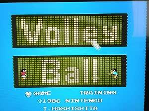 ファミコンディスクシステム A面:バレーボール(任天堂) B面:スーパーマリオブラザーズ2