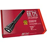 MagLite ML125 230V LED Rechargeable Flashlight System, Black