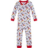 Disney Baby Boys' Mickey Mouse Cotton Non-Footed Pajama