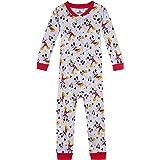 Disney Baby Boys' Mickey Mouse Cotton Non-Footed Pajama