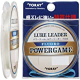 東レ(TORAY) パワーゲーム ルアーリーダー フロロ 30m 20LB