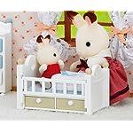 シルバニアファミリー Android(960×800)待ち受け ショコラウサギの赤ちゃん・家具セット