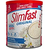 SlimFast – Original Meal Replacement Shake Mix Powder – Weight Loss Shake – 10g of Protein – 24 Vitamins and Minerals Per Ser