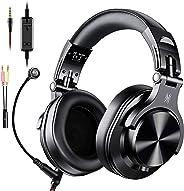 OneOdio ゲーミングヘッドセット DJヘッドホン PC用 ヘッドセット モニターヘッドホン 低音強化 A71