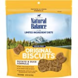 Natural Balance L.I.T. Limited Ingredient Treats Dog Treats, Potato & Duck Formula, 28 Ounce Pouch, Grain Free