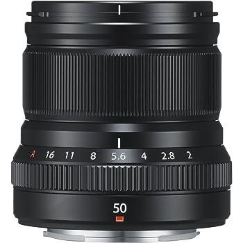 FUJIFILM 単焦点中望遠レンズ XF50mmF2 R WR B ブラック