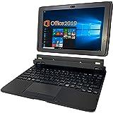 富士通 タブレット ARROWS Tab Q507/PB/MS Office 2019付き/Win 10/10.1インチ1900X1200IPSディスプレイ/WI-FI/RAM4GB/64GB SSD (整備済み品) ※スタンド台付属無し