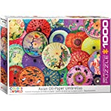 EuroGraphics 6000-5317 Asian Oil Paper Umbrellas 1000Piece Puzzle