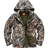 NEW VIEW Hunting Jacket Waterproof Hunting Camouflage Hoodie for Men,Hunting Suit