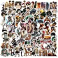 Attack On Titan Stickers 100PCS AOT Stickers Cool Anime Stickers Vinyl Waterproof Stickers for Teens Adults Laptop Water Bott