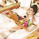Your Majesty Premium Bathtub Tray Bathtub Caddy Tray Bath Caddy Bath Table - Bath Shelf