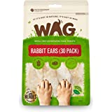 WAG Rabbit Ears Dog Treat, 30 Pack