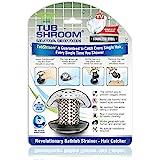 TubShroom Ultra Revolutionary Bath Tub Drain Protector Hair Catcher/Strainer Stainless Single Stainless Single Pack