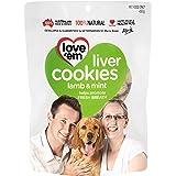 Love 'Em, Dog Treats, Liver Cookies 450 g