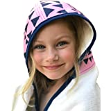 Toddler to Kids Hooded Towel - Extra Soft & Thick 500GSM Bamboo Terry | Hypoallergenic & Antibacterial | Oversized | 2 Layer