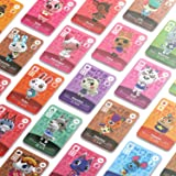 72 PCs ACNH Selected Villagers 1.38'' X 0.79'' NFC Cards for Nintendo Switch Wii 3DS DS and AC Leaf and Merch