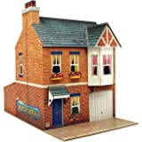 O gauge 7mm 1:48 scale Model Railroad Building ROW HOUSE Kit CityBuilder