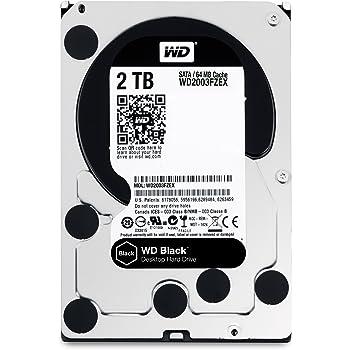 WD HDD 内蔵ハードディスク 3.5インチ 2TB WD Black WD2003FZEX SATA3.0 7200rpm 64MB 5年保証