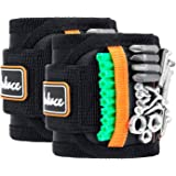Magnetic Wristband, Tool Belts with 15 Strong Magnets for Holding Screws, Nails, Drill Bits - Best Tool Organizers Tool Holst