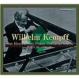 ウィルヘルム・ケンプ 1961年 ベートーヴェン・ピアノソナタ全曲連続演奏会ライヴ (Wilhelm Kempff / The Beethoven Piano Sonatas Cycle 1961 in Japan) [9CD Box] [Limit