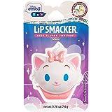 Lip Smacker Disney Emoji Flip Balm, Marie, Key Lime Flavor, 1 Lip Balm