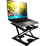 Laptop Stand by Shelcone - Laptop Holder - Adjustable Notebook Stand for Laptop up to 17 inches - Multi-Angle Stand with Heat