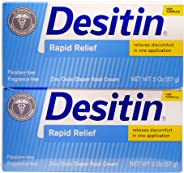 Desitin Rapid Relief Twin Pack; 57g (Pack of 2)