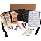 GETScrapping Scrapbook Photo Album DIY Kit, Everything you need to Scrapbook for beginners to experienced. 8x11 Album, Qualit