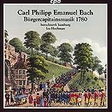 ハンブルクの市民隊長のための音楽 1780年 ~C.P.E.バッハ:オラトリオとセレナード集