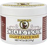 Chalk-Tique Light Paste Wax – Soft Chalk Paint Wax – Perfect Furniture Wax For Your Chalk Paint Home Décor Project – 6 oz