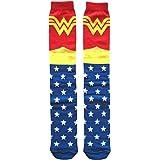 DC Comics Classic Wonder Woman Knee High Socks Shoe Size 4-10